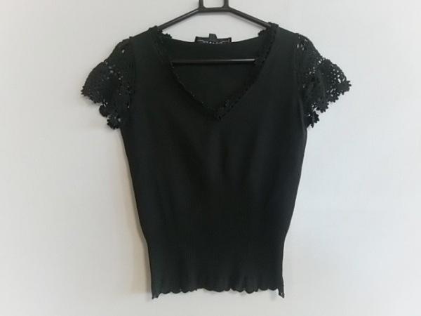 MATERIA(マテリア) 半袖カットソー サイズ38 M レディース美品  黒