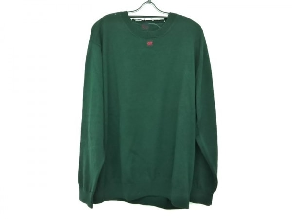 Papas(パパス) 長袖セーター サイズ50/L メンズ グリーン