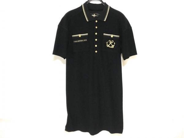 VALENZA PO(バレンザポー) ワンピース サイズ40 M レディース美品  黒×ゴールド