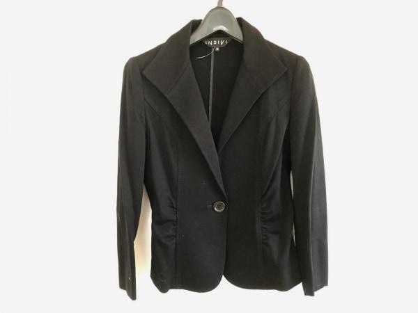 INDIVI(インディビ) ジャケット サイズ38 M レディース 黒