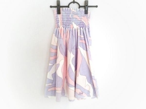 Rady(レディ) スカート サイズF レディース 白×パープル×ピンク