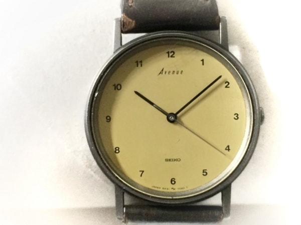 SEIKO(セイコー) 腕時計 アベニュー 5P31-7020 ボーイズ 社外ベルト イエローベージュ