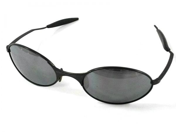 OAKLEY(オークリー) サングラス美品  - 黒 プラスチック×金属素材