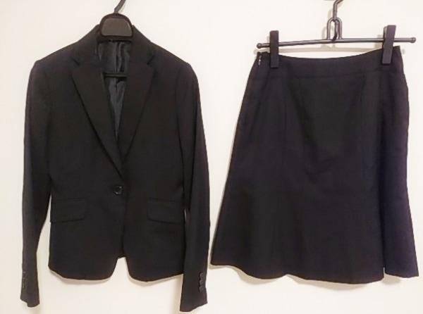 COMME CA ISM(コムサイズム) スカートスーツ サイズM レディース 黒