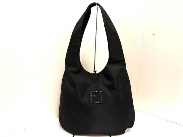 FENDI(フェンディ) ショルダーバッグ美品  - 15062 黒 ナイロン