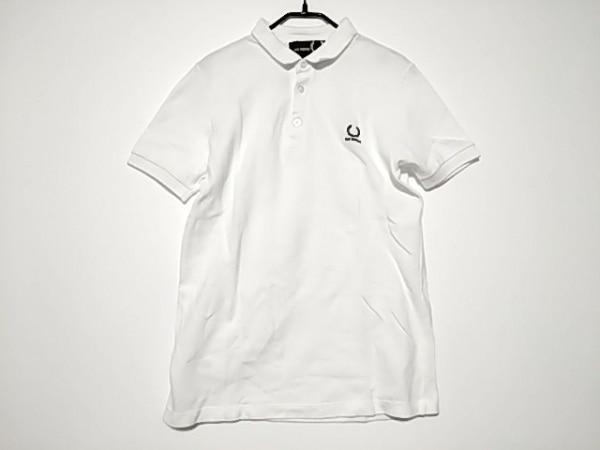 RAF SIMONS(ラフシモンズ) 半袖ポロシャツ サイズS メンズ美品  白