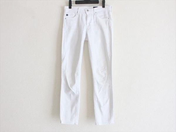 エージーアドリアーノゴールドシュミット パンツ サイズ026 S レディース 白