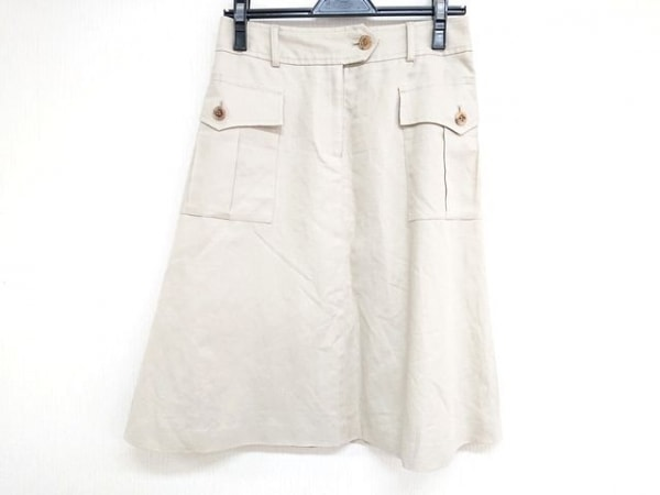 OLD ENGLAND(オールドイングランド) スカート サイズ36 S レディース ベージュ