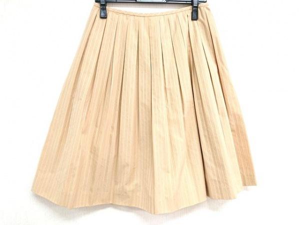 オールドイングランド スカート サイズ36 S レディース美品  ベージュ×白×ゴールド