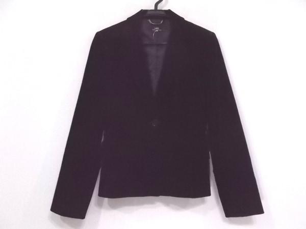 INED(イネド) ジャケット サイズ7 S レディース新品同様  黒 ベロア