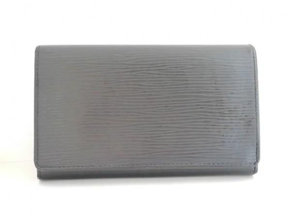ルイヴィトン 2つ折り財布 エピ ポルト モネ・ビエ トレゾール M63502 ノワール