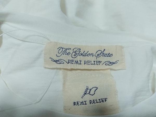 REMI RELIEF(レミ レリーフ) 半袖Tシャツ サイズL メンズ美品  白 Hawaii