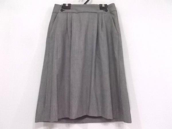 マーガレットハウエル スカート サイズ1 S レディース美品  アイボリー×黒
