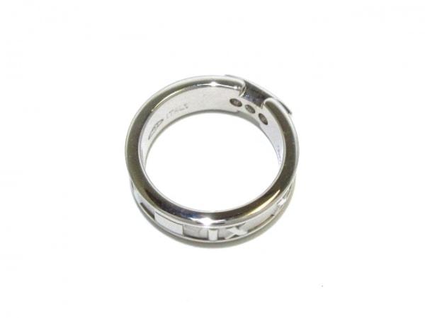 TIFFANY&Co.(ティファニー) リング美品  アトラス K18WG×ダイヤモンド 3Pダイヤ