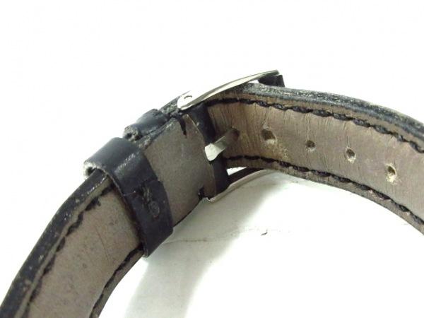 BVLGARI(ブルガリ) 腕時計美品  ソロテンポ ST29S レディース 黒×シルバー