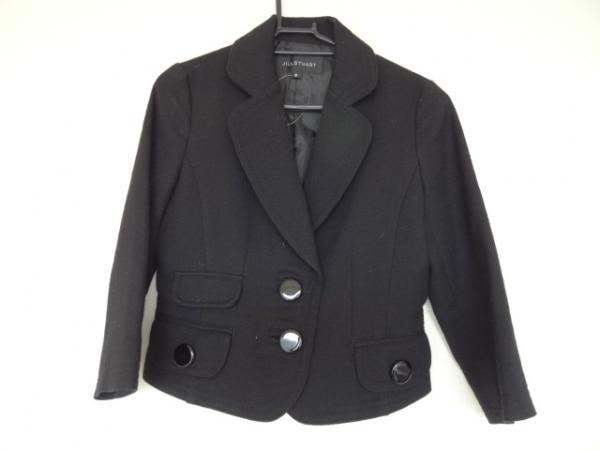 JILL STUART(ジルスチュアート) ジャケット サイズS レディース美品  黒 ショート丈
