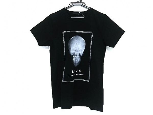HEDDIE LOVU(エディー ルーヴ) 半袖Tシャツ レディース美品  黒×白
