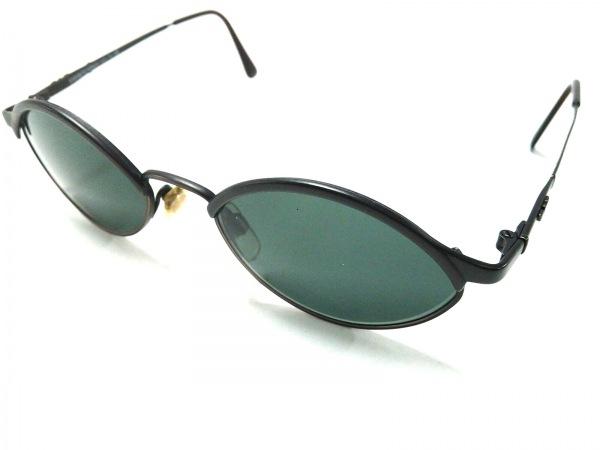 エンポリオアルマーニ サングラス美品  022-S 黒 プラスチック×金属素材
