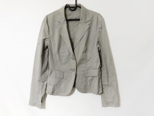 ICB(アイシービー) スカートスーツ サイズ40 M レディース ライトグレー プリーツ
