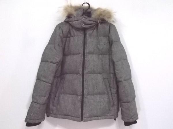 PAZZO(パッゾ) ダウンジャケット サイズM メンズ新品同様  ライトグレー 冬物