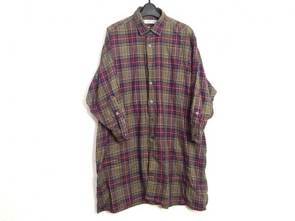 インディビジュアライズドシャツ ワンピース レディース シャツワンピ/チェック柄