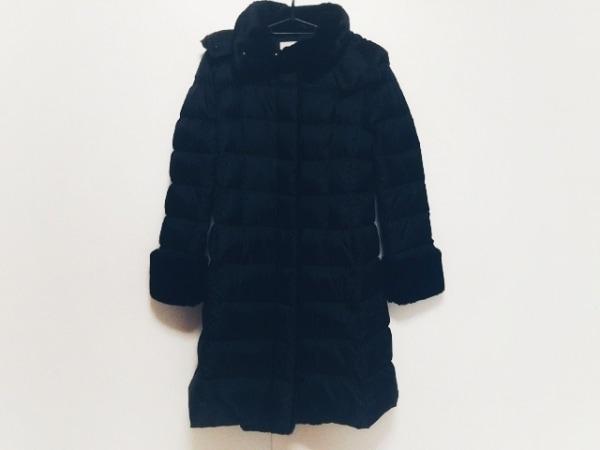 BALLSEY(ボールジー) ダウンコート サイズ36 S レディース美品  黒 冬物/フード着脱可