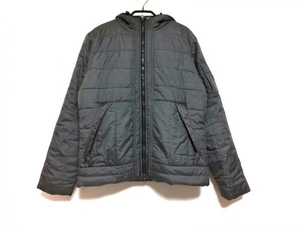 ヴィクトリノックス ダウンジャケット サイズS メンズ グレー 冬物/ジップアップ