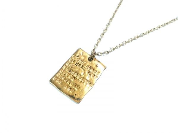SERGE THORAVAL(セルジュ トラヴァル) ネックレス 金属素材 ゴールド