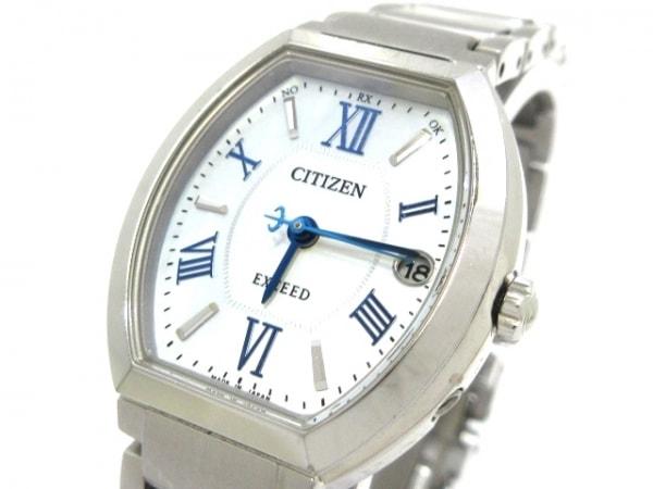 シチズン 腕時計 エクシード H058-T021191 レディース エコドライブ/シェル文字盤