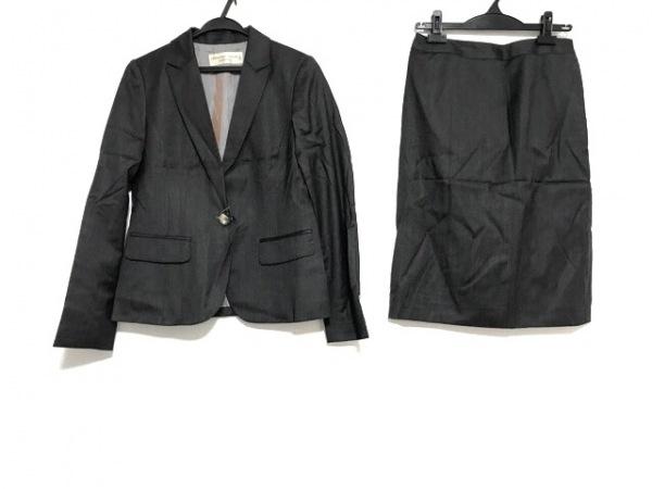 クリスチャンオジャール スカートスーツ レディース美品  ダークグレー