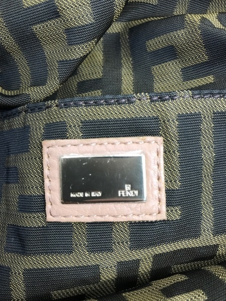 FENDI(フェンディ) ハンドバッグ ミニスパイバッグ 8BL078 ベージュ レザー