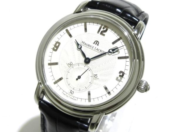 モーリスラクロア 腕時計 マスターピース プゾー MP7028 メンズ アイボリー