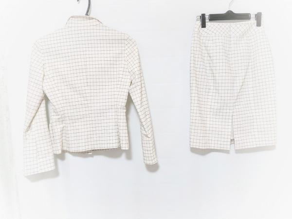 CdeC COUP DE CHANCE(クードシャンス) スカートスーツ サイズ38 M レディース 白×黒