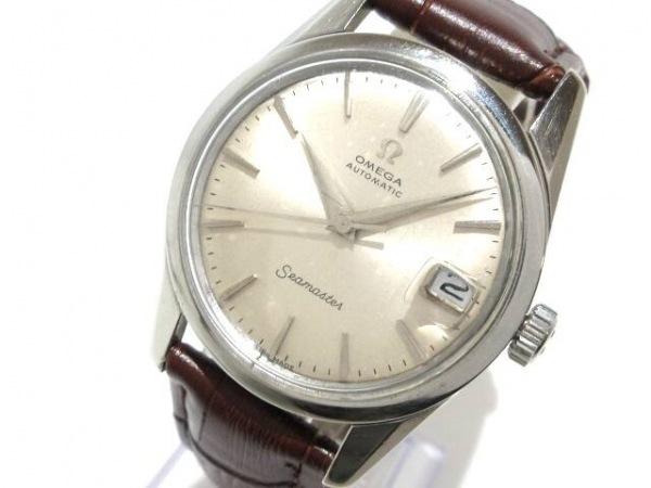 オメガ 腕時計 シーマスター - メンズ アンティーク/プラスチック風防/社外ベルト