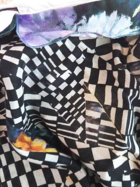 PaulSmith(ポールスミス) ワンピース レディース美品  アイボリー×黒×マルチ