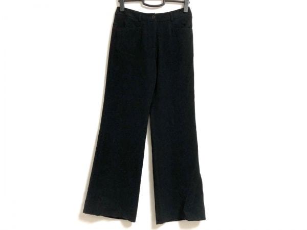 GIORGIOARMANI(ジョルジオアルマーニ) パンツ サイズ38 S レディース 黒