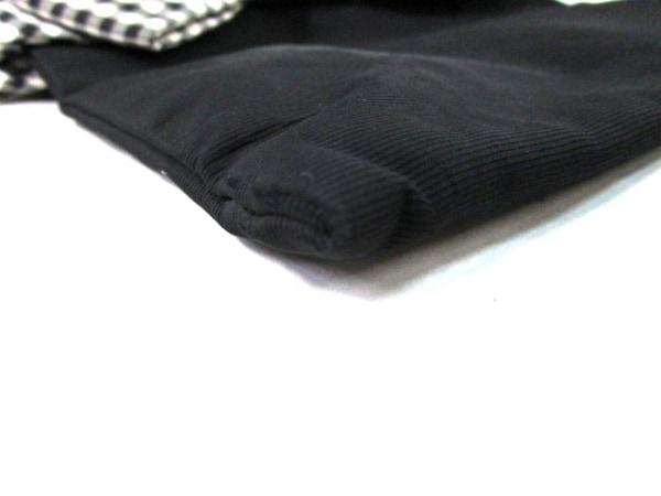 MUGUET(ミュゲ) トートバッグ 黒×白 ナイロン