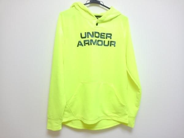 UNDER ARMOUR(アンダーアーマー) パーカー サイズM メンズ美品  イエロー×パープル
