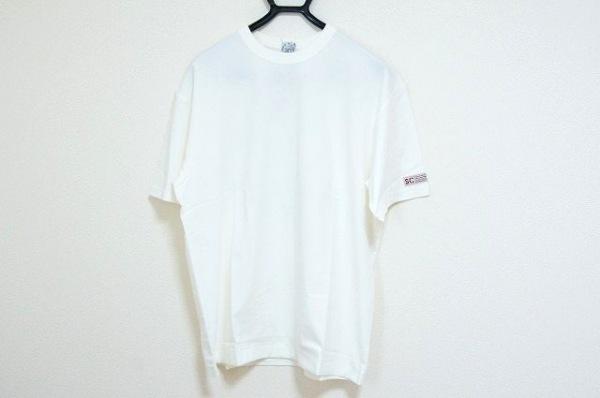 シナコバ 半袖Tシャツ サイズLL メンズ美品  アイボリー×マルチ 刺繍/LUPO DI MARE