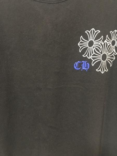 Chrome hearts(クロムハーツ) タンクトップ メンズ 黒×ブルー×マルチ