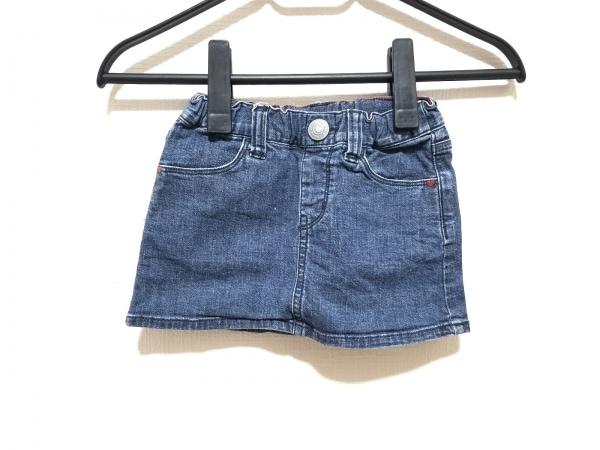 miki HOUSE(ミキハウス) スカート サイズ90 レディース美品  ネイビー デニム