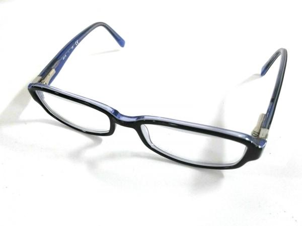 カルバンクライン メガネ ck5689 ネイビー×クリア×マルチ プラスチック