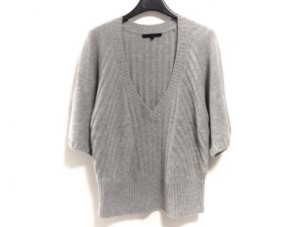 ANAYI(アナイ) 七分袖セーター サイズ38 M レディース ライトグレー