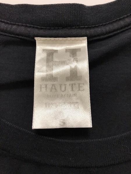 HAUTE(オート) 半袖Tシャツ サイズS レディース 黒×白