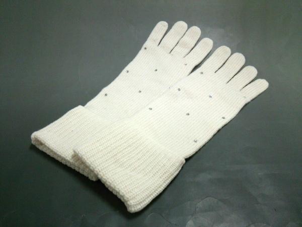 バナナリパブリック 手袋 ONESIZE レディース美品  アイボリー 1