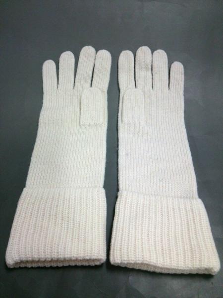 バナナリパブリック 手袋 ONESIZE レディース美品  アイボリー 3