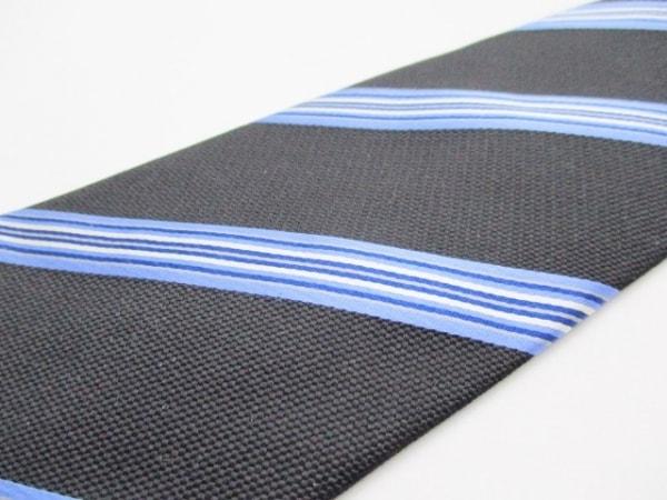 PaulSmith(ポールスミス) ネクタイ メンズ新品同様  黒×ブルー×マルチ