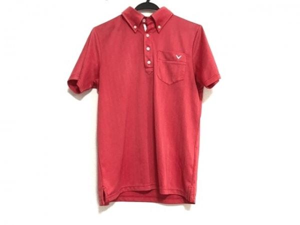 CALLAWAY(キャロウェイ) 半袖ポロシャツ サイズM レディース美品  レッド