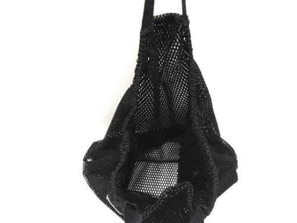 PAMEO POSE(パメオポーズ) トートバッグ新品同様  黒 メッシュ ナイロン