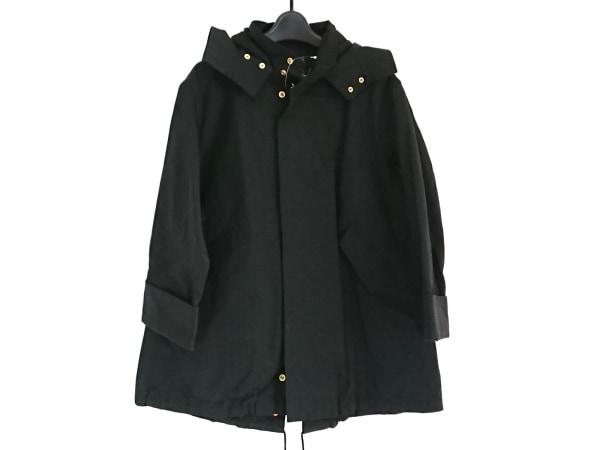 スピック&スパン コート サイズ36 S レディース美品  黒 ジップアップ/春・秋物